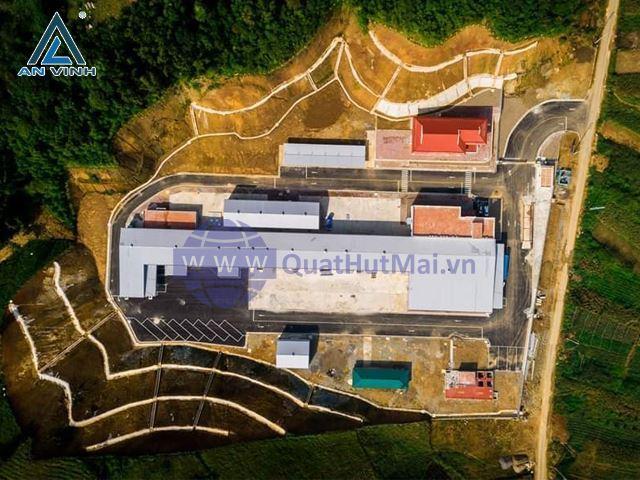 Nhà máy chế biến rau sạch Hàn Quốc - Mộc Châu - Sơn La